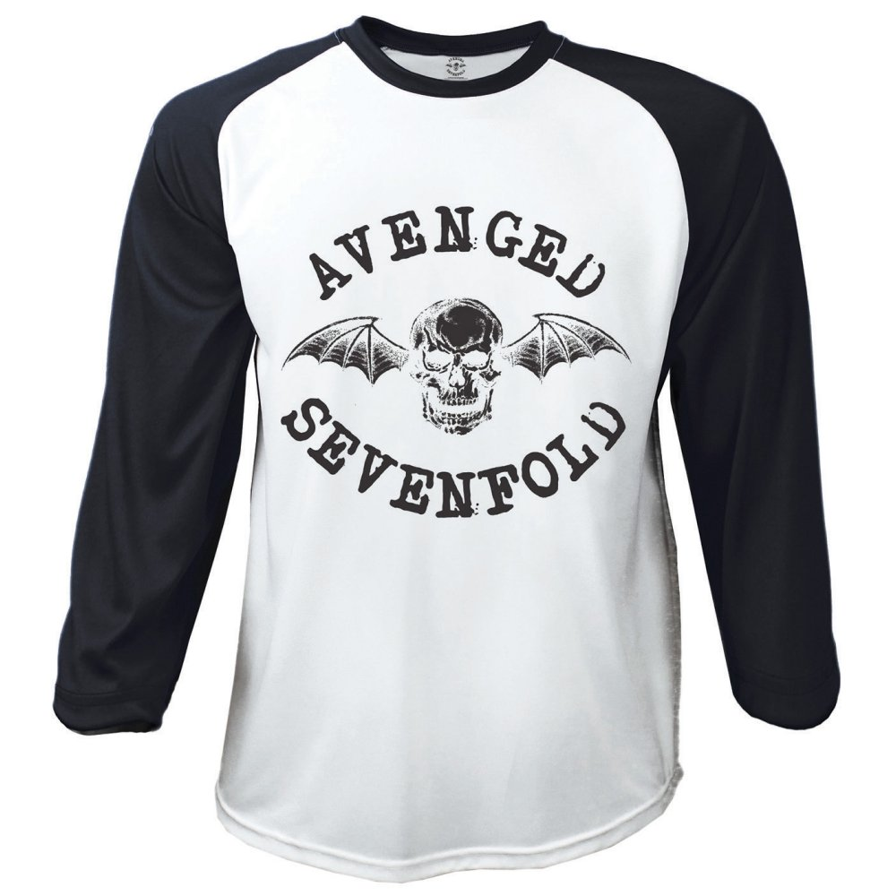 Avenged Sevenfold Deathbat Raglan Baseball