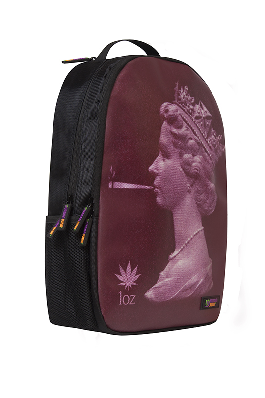 Queen with a spliff Backpack.