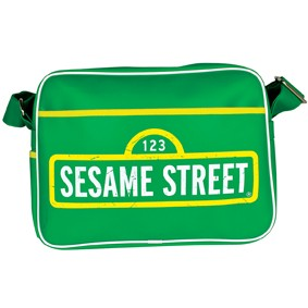 Sesame St. shoulder bag.